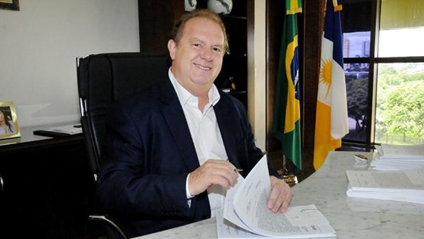 Mauro Carlesse, governador do Tocantins   Foto: Esequias Araújo / Governo do Tocantins