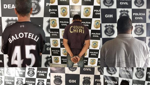 61 pessoas são presas durante operação da Polícia Civil em Goiás