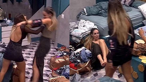 Após empurrar Paula, goiana Hariany é expulsa do BBB 19
