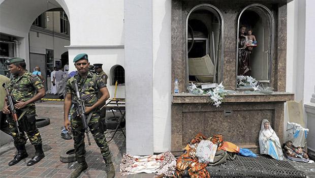 Igrejas e hotéis no Sri Lanka são alvo de ataques