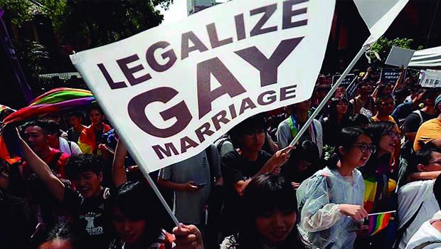 Taiwan é primeiro país da Ásia a ter casamentos gays