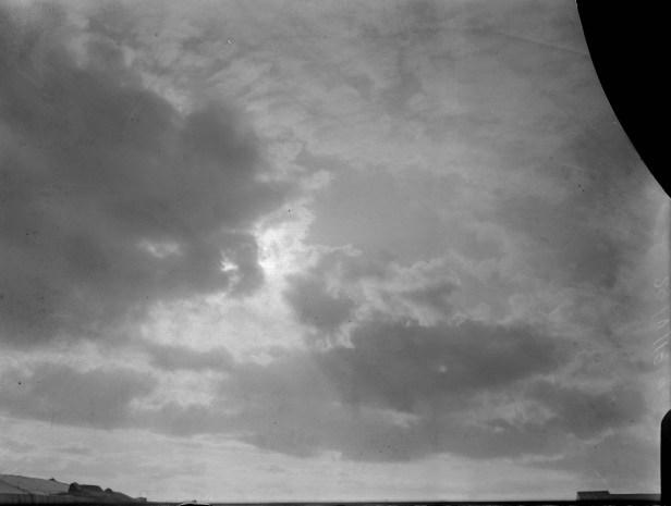 O tempo nublado quase estragou tudo | Foto: Divulgação / Observatório Nacional