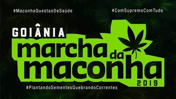 Marcha da Maconha 2019 acontece nesta sexta em Goiânia