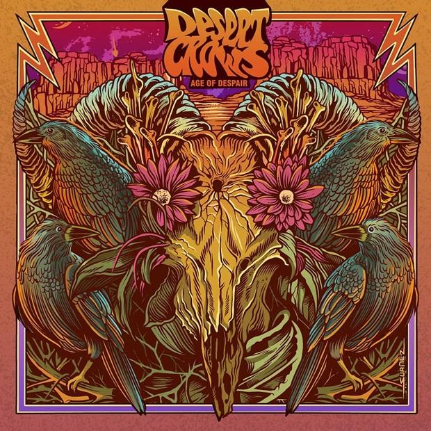 Desert Crows - Age Of Despair - Ilustração Cristiano Suarez