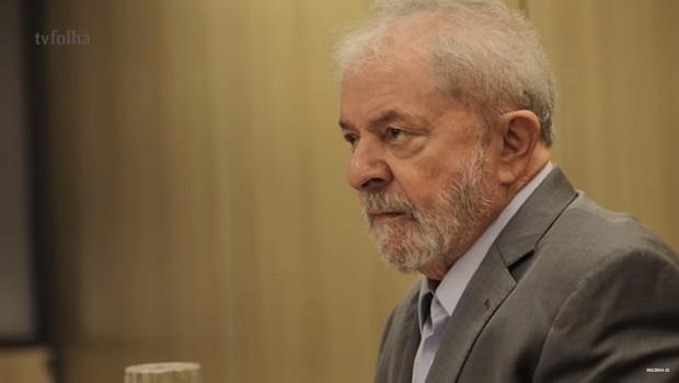 Lula 13 - entrevista - Foto Reprodução TV Folha - editada