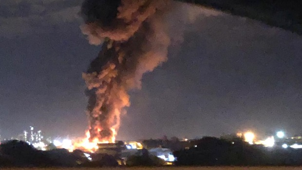 Vítimas do incêndio em empresa de reciclagem seguem em estado grave
