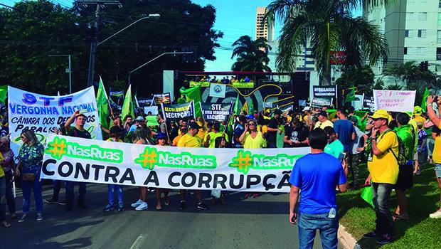 Organização fala em 7 mil na manifestação pró-Bolsonaro, mas PM contabiliza menos de 5 mil