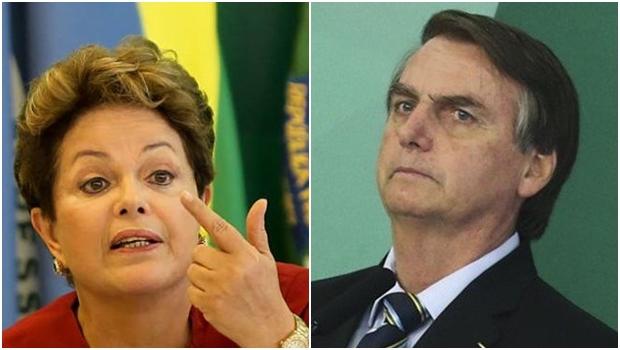 """Bolsonaro vai responder na Justiça as mentiras lançadas contra mim"", diz Dilma Rousseff"