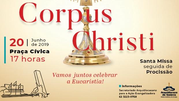 Missa de Corpus Christi em Goiânia deve reunir 25 mil fieis