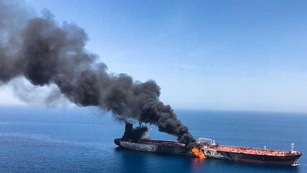 Reino Unido se junta aos EUA e culpa Irã por atentado a petroleiros