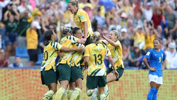 Brasil 2 3 Austrália - Foto Getty Images