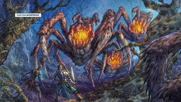 Quadrinho inspirado no game Dark Souls poderia ter sido muito mais