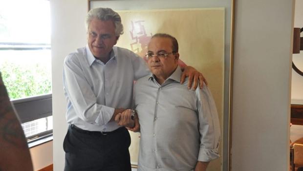 Caiado e Ibaneis se desentendem após governador do DF testar trem que vai ligar Entorno a Brasília