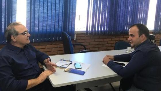 Marcelo do Vale diz a Jânio Darrot que deve disputar Prefeitura de Mineiros