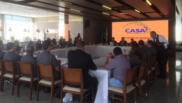"""""""É mais que uma inauguração, é o início de uma nova fase"""", diz vice-presidente sobre novo prédio da Casag"""