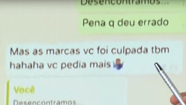 Divulgado desfecho do diálogo entre Najila e Neymar: 'Você não mostrou a conversa toda', diz modelo
