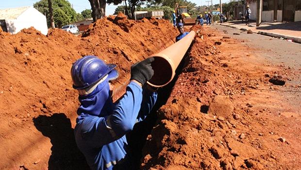 Governo Federal anuncia liberação de R$ 12,64 milhões para obras de saneamento em Goiás
