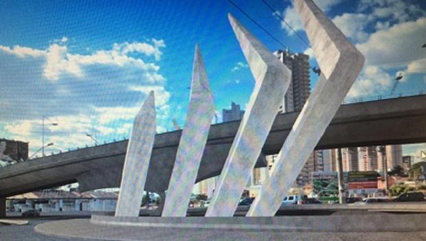Construção do complexo viário da Avenida Jamel Cecílio deve começar em agosto