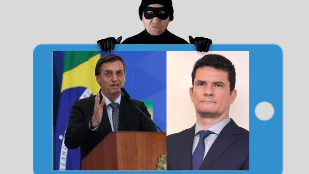 Ao invadir celular de Bolsonaro, hacker ameaça a segurança nacional