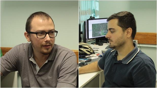 Leandro Leal Parente e Sérgio Henrique Moura Nogueira - Lapig UFG - Fotos Fábio Costa Jornal Opção