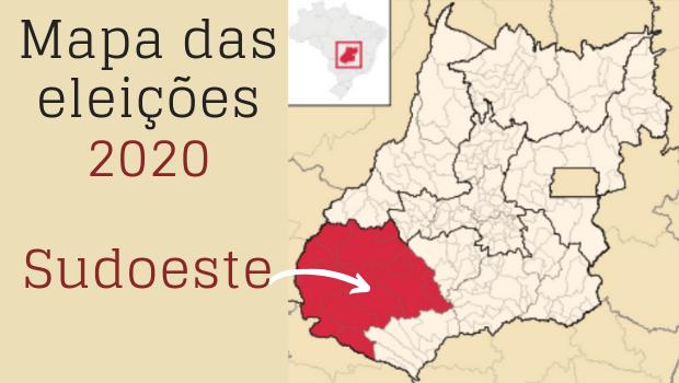 Mapa político: os candidatos a prefeito no Sudoeste goiano