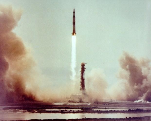 Há 50 anos lua