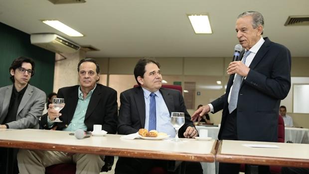 Presidente da Fecomércio comemora lançamento de sistema que facilita abertura de empresas