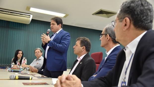Em apresentação sobre recuperação de Abadiânia, presidente da Fecomércio indica realização de trabalhos em Minaçu