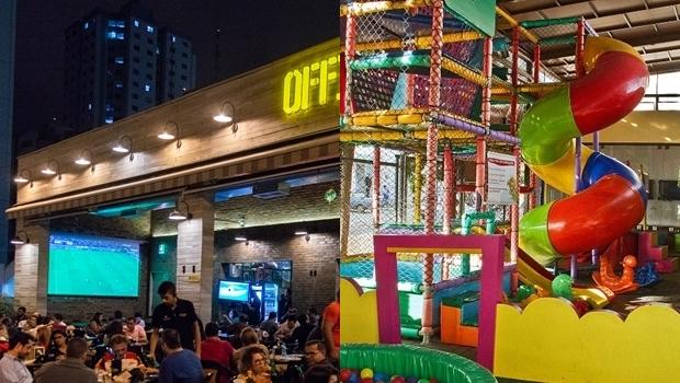 Diversão para toda família: confira os melhores restaurantes de Goiânia com brinquedoteca