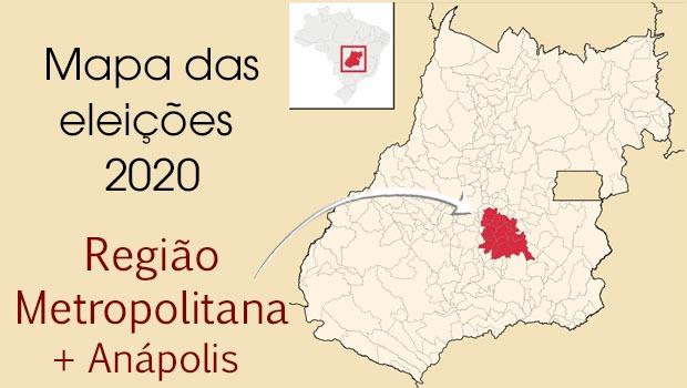 Mapa político: os candidatos a prefeito na Região Metropolitana
