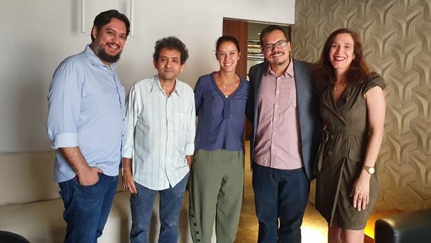 Secretária de Comunicação visita redação do Jornal Opção