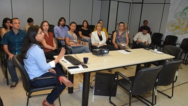 Técnicos da Seplanh apresentam detalhes do Plano Diretor à relatora na CCJ