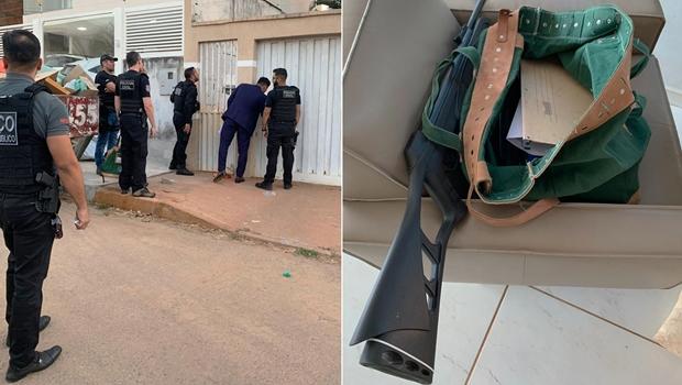 Operação Chorume: MP cumpre mandados de busca e apreensão e prisão em Planaltina