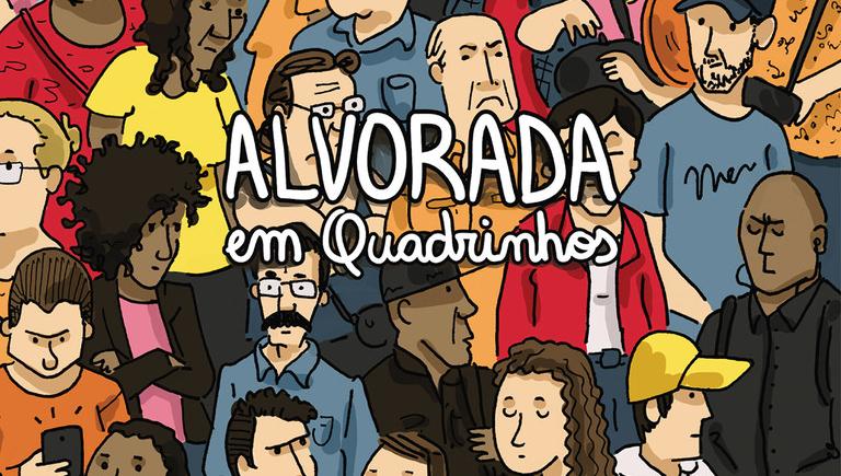 Pablito Aguiar faz reportagens em quadrinhos da vida cotidiana
