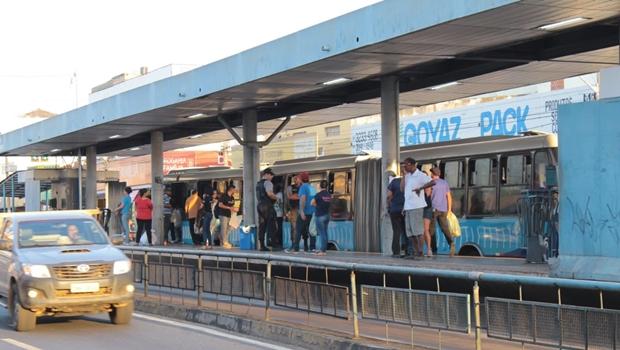 Plataforma do Eixo-Anhanguera: Região Metropolitana tem 12 milhões de passageiros | Foto: Fábio Costa / Jornal Opção