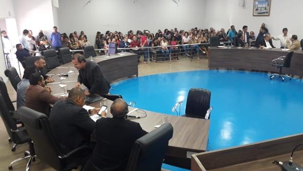 Projeto aproxima os jovens da política com simulação na Câmara Municipal de Goiânia
