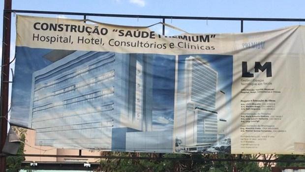 """Vistoria constata irregularidades na obra do """"Saúde Premium"""" e empresa é notificada"""