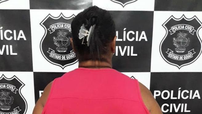 Babá foge com criança em Goianápolis e é presa em igreja da capital