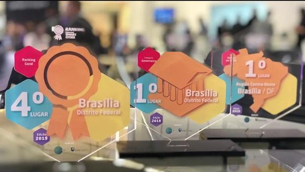 Brasília ocupa quarto lugar entre cidades mais inteligentes e conectadas do País e recebe prêmios