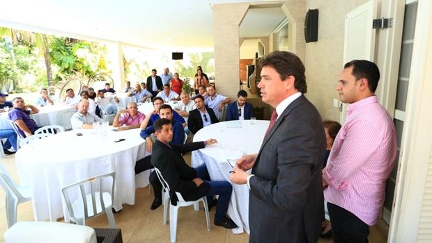Lideranças do Pros se reúnem em Goiânia para discutir eleições 2020