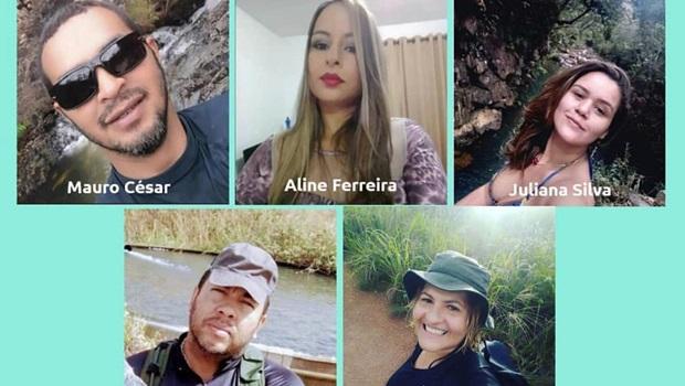 Bombeiros intensificam buscas por grupo de desaparecidos na Chapada dos Veadeiros. Veja quem são
