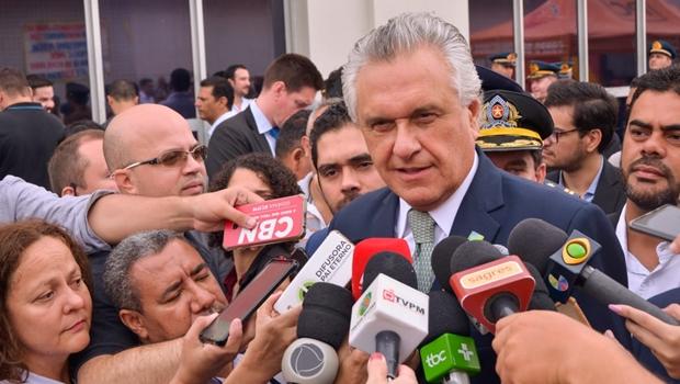 """""""Já chega! Esgotou toda e qualquer tipo de negociação do Estado com a Enel"""", diz Caiado"""
