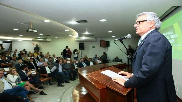 """""""Temos que buscar alternativas diante de compromissos que não foram cumpridos pela Enel"""", diz Caiado"""