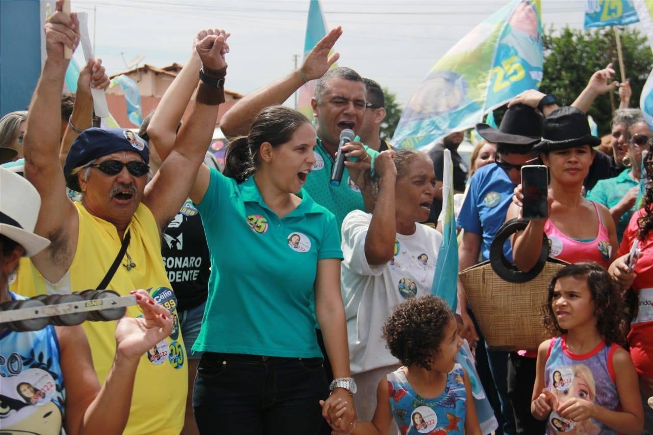 MDB conquista passe de Fernanda Batista e vai lançá-la para prefeita de Cidade Ocidental