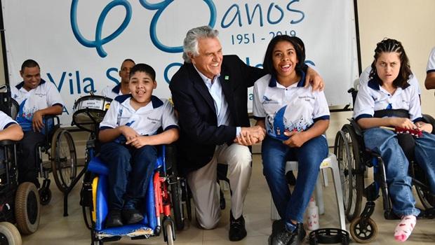 """""""Não terá um dia de atraso"""", garante Caiado sobre convênio de R$ 24,6 milhões com a Vila São Cottolengo"""