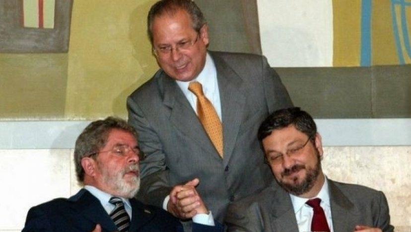 José Dirceu é o vilão de Lula