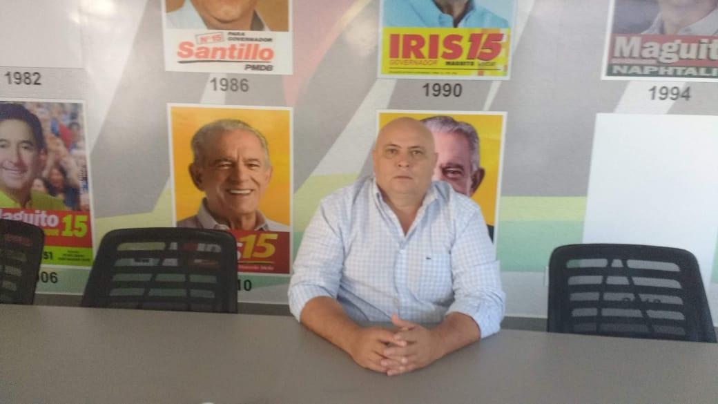 Manuel Cearense: MDB aposta na vitória de Juraci Martins em Rio Verde e banca Osvaldo Jr. pra vice