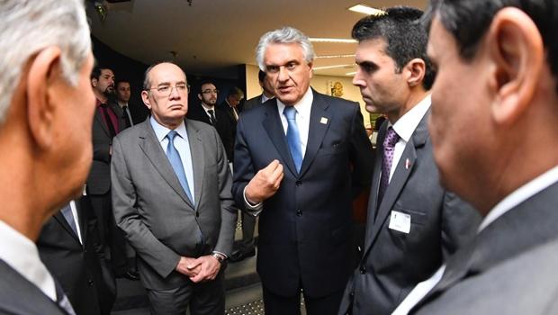 Ronaldo Caiado defende acordo de repasse da Lei Kandir para Estados