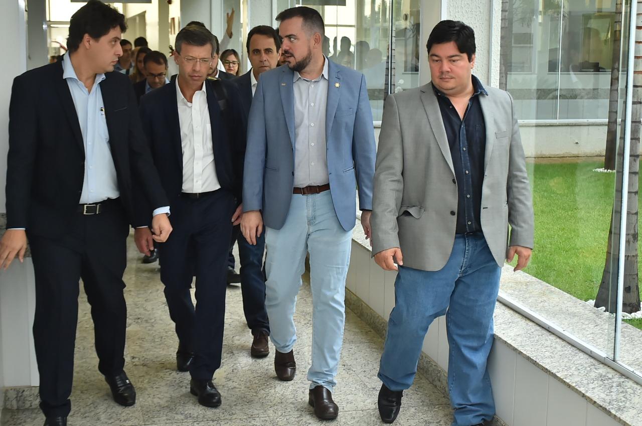 Equipe do Albert Einstein visita Hospital Municipal de Aparecida e elogia estrutura