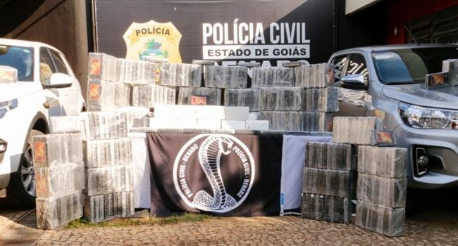Em 2019, número de operações policiais em Goiás cresceu 214%
